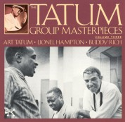 Art Tatum, Lionel Hampton: Tatum Group Masterpieces, Vol 3 - CD