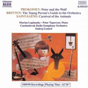 Prokofiev: Peter and the Wolf / Britten: Young Person's Guide To Orchestra / Saint-Saens: Carnival - CD