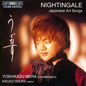 Yoshikazu Mera: Nightingale - Japanese Arts Songs - CD
