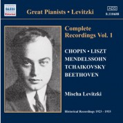 Levitzki, Mischa: Complete Recordings, Vol.  1 (1924-1928) - CD