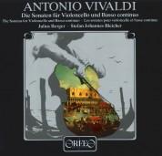 Julius Berger: Vivaldi: Die Sonaten Fuer Violoncello and Basso Continuo - Plak