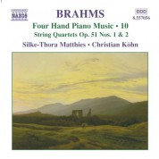 Christian Kohn, Silke-Thora Matthies: Brahms: Four-Hand Piano Music, Vol. 10 - CD