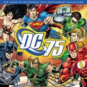 Çeşitli Sanatçılar: Music Of DC Comics: 75th Anniversary Collection  (Translucent Blue Vinyl) - Plak