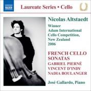 Nicolas Altstaedt: Altstaedt, Nicolas - French Cello Sonatas - CD