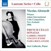 Nicolas Altstaedt: Altstaedt, Nicolas - French Cello Sonatas - CD