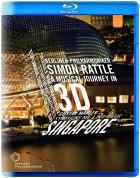 Berliner Philharmoniker, Sir Simon Rattle: Berlin Philharmonic in Singapore - Rachmaninov: Symphonic Dances / Mahler: Symphony No. 1 - BluRay