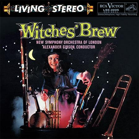 New Symphony Orchestra of London, Sir Alexander Gibson: Witches Brew - Plak