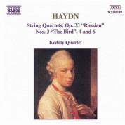 Haydn: String Quartets Op. 33, Nos. 3, 4 and 6 - CD