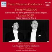 Lukas Foss, Los Angeles Festival Orchestra, Franz Waxman: Franz Waxman Conducts, Vol. 1 - CD