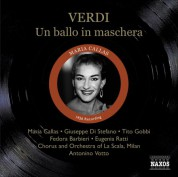 Maria Callas: Verdi: Ballo in Maschera (Un) (Callas, Di Stefano, Gobbi) (1956) - CD