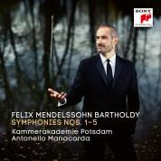 Antonello Manacorda, Kammerakademie Potsdam: Mendelssohn Bartholdy: Symphony 1 - 5 - CD