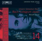 Bach Collegium Japan, Masaaki Suzuki: J.S. Bach: Cantatas, Vol. 14 (BWV 148, 48, 89, 109) - CD
