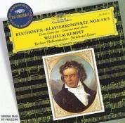 Berliner Philharmoniker, Ferdinand Leitner, Wilhelm Kempff: Beethoven: Piano Concertos 4 + 5 - CD