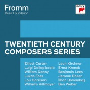 Çeşitli Sanatçılar: Fromm Music Foundation -Twentieth Century Composers Series - CD