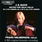 Frans Helmerson: J.S. Bach: Suites 2,3 and 5 for Solo Cello - CD