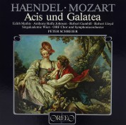 Edith Mathis, Anthony Rolfe Johnson, Robert Gambill, Robert Lloyd, Peter Schreier: Händel: Acis und Galatea - Plak