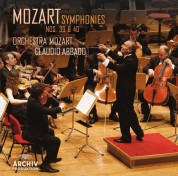 Claudio Abbado, Orchestra Mozart: Mozart: Symphonies Nos. 39 + 40 - CD