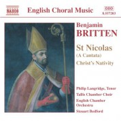 Britten: St. Nicolas / Christ's Nativity / Psalm 150 - CD