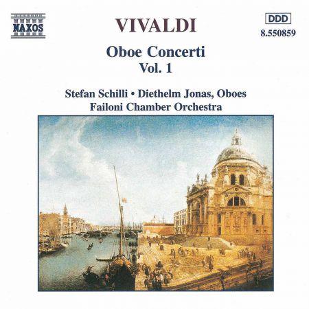 Vivaldi: Oboe Concertos, Vol.  1 - CD