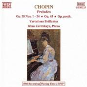 Irina Zaritzkaya: Chopin, F.: Complete Preludes / Variations Brillantes - CD