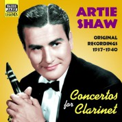 Shaw, Artie: Concertos for Clarinet (1937-1940) - CD