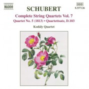 Kodály Quartet: Schubert: String Quartets (Complete), Vol. 7 - CD