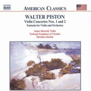 James Buswell, Theodore Kuchar, National Symphony Orchestra of Ukraine: Walter Piston: Works for Violin & Orchestra - CD