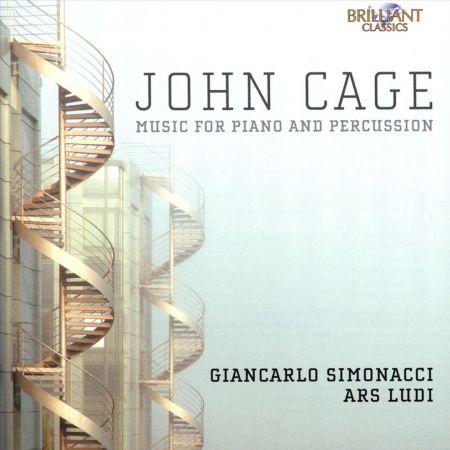 Giancarlo Simonacci, Ars Ludi Percussion Ensemble, Gianluca Ruggeri: Cage: Music for Piano & Percussion - CD
