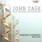 Giancarlo Simonacci, Ars Ludi Percussion Ensemble, Gianluca Ruggeri: Cage: Music for Piano & Percussion - CD