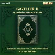 Çeşitli Sanatçılar: Gazeller 2 - 78 Devirli Taş Plak Kayıtları - CD