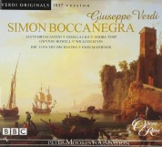 Sesto Bruscantini, William Elvin, Gwynne Howell, Paul Hudson, Josella Ligi, Andre Turp, BBC Concert Orchestra, John Matheson: Verdi: Simon Boccanegra (Original 1857 version) - CD