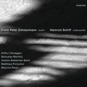 Frank Peter Zimmermann, Heinrich Schiff: Honegger / Martinu / Bach / Pintscher / Ravel - CD