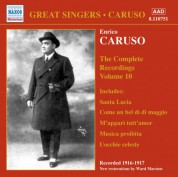 Caruso, Enrico: Complete Recordings, Vol. 10 (1916-1917) - CD