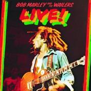 Bob Marley & The Wailers: Live! - Plak