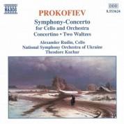 Alexander Rudin: Prokofiev: Symphony-Concerto / Cello Concertino / Pushkin Waltzes - CD
