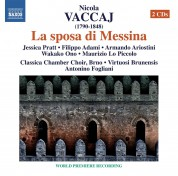 Antonino Fogliani: Vaccaj: La sposa di Messina - CD