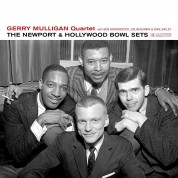Gerry Mulligan Quartet  - The Newport & Hollywood Bowl Sets (Outstanding New Cover Art!) - Plak