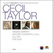 Cecil Taylor: The Complete Remastered Recordings on Black Saint & Soul Note - CD