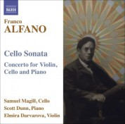 Sam Magill: Alfano, F.: Cello Sonata / Concerto for Violin, Cello and Piano - CD