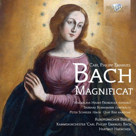 Venceslava Hruba-Freiberger, Barbara Bornemann, Peter Schreier, Olaf Bär, Rundfunkchor Berlin, Kammerorchester Carl Philipp Emanuel Bach, Hartmut Haenchen: C.P.E. Bach: Magnificat - CD
