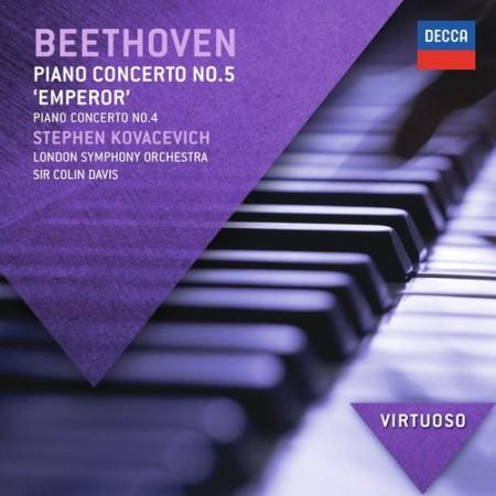 BBC Symphony Orchestra, London Symphony Orchestra, Sir Colin Davis, Stephen Kovacevich: Beethoven: Piano Concertos 4 + 5 - CD