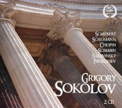 Grigory Sokolov: Schubert / Prokofiev: Piano Sonata - CD