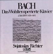 Sviatoslav Richter: J.S. Bach: Das Wohltemperierte Klavier Vol. 2 - CD
