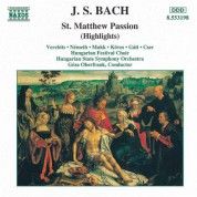 Geza Oberfrank: Bach: St. Matthew Passion (Highlights) - CD