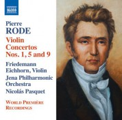 Friedemann Eichhorn, Jenaer Philharmonie, Nicolás Pasquet: Rode: Violin Concertos Nos. 1, 5 & 9 - CD