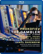 Daniel Barenboim: Prokofiev: The Gambler - BluRay