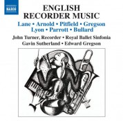 John Turner: English Recorder Music - CD