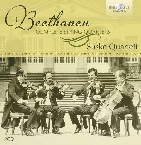 Suske Quartet: Beethoven: Complete String Quartets - CD - Opus3a