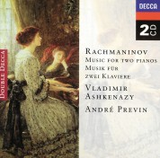 André Previn, Vladimir Ashkenazy: Rachmaninov: Music For 2 Pianos - CD