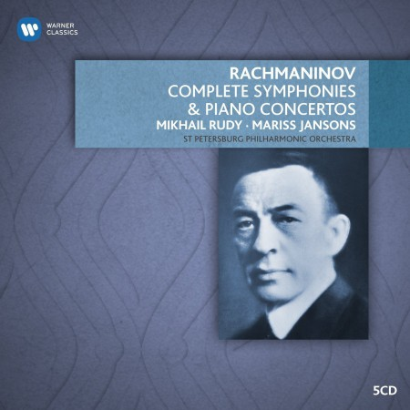 Mikhail Rudy, St. Petersburg Philharmonic Orchestra, Mariss Jansons: Rachmaninov: Complete Symphonies and Piano Concertos - CD